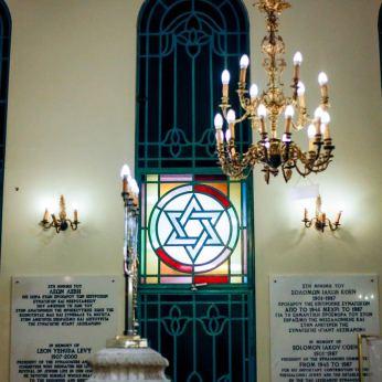 Στη Συναγωγή Γιαν Λεζικαρόν (φωτ: Σ.Γιουμπασης)