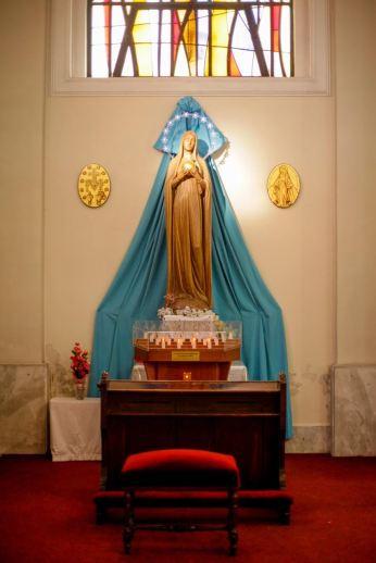 Στην Καθολική Εκκλησία (φωτ: Σ.Γιουμπασης)
