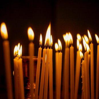 Στην Αρμένικη Εκκλησία (φωτ: Σ.Γιουμπασης)
